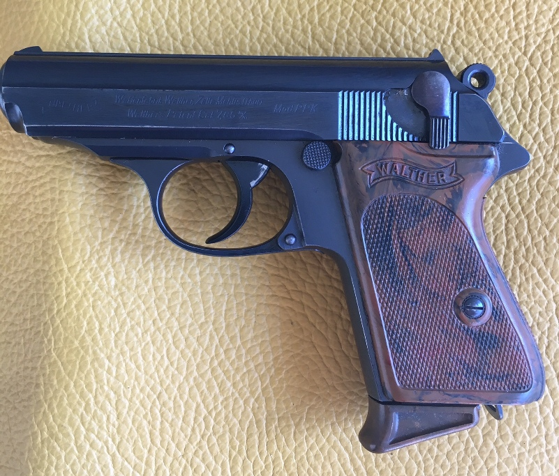 Walther PPK 32 ACP , 90 degree safety - Rare