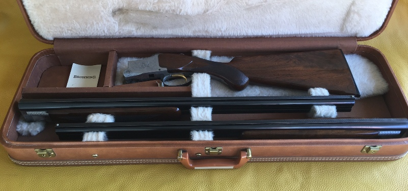 Browning superposed Pigeon grade 12 Ga  2 barrel set
