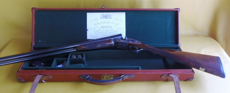 Westley Richards, hand detachable sidelock  assisted opening 12 Ga