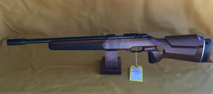 Anschutz Match Mod 1808 EDS Running target. Single shot 22 LR