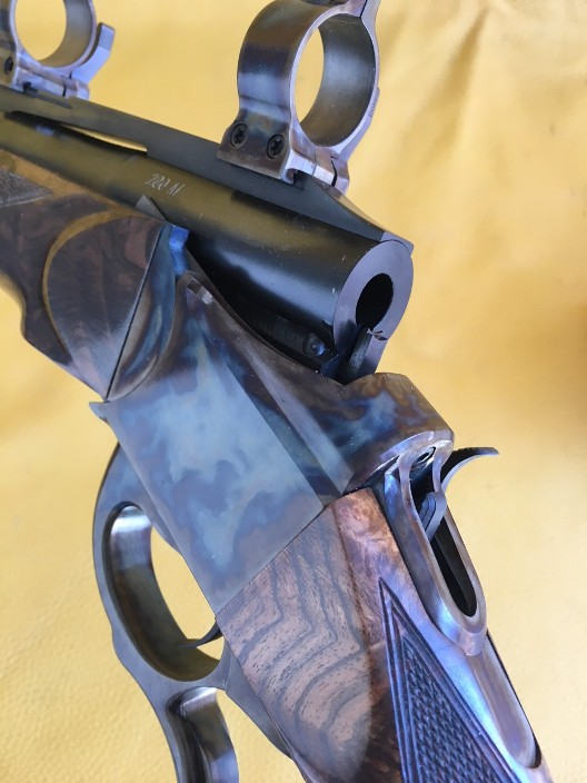 Luxus Arms  Mod 11, break open single shot in 280 Ackley Imp.
