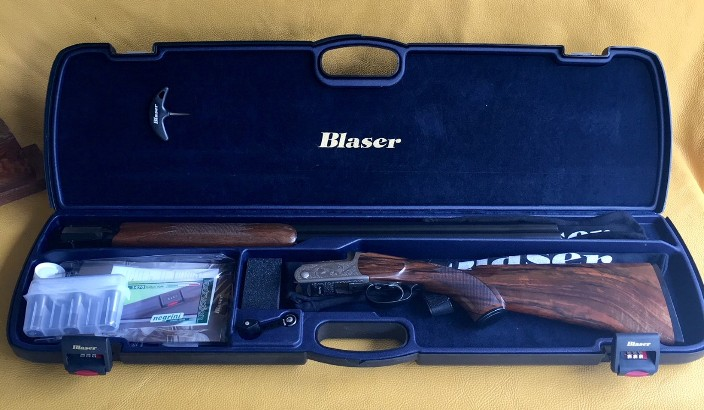 Blaser F3 Luxus with games scene 12 Ga