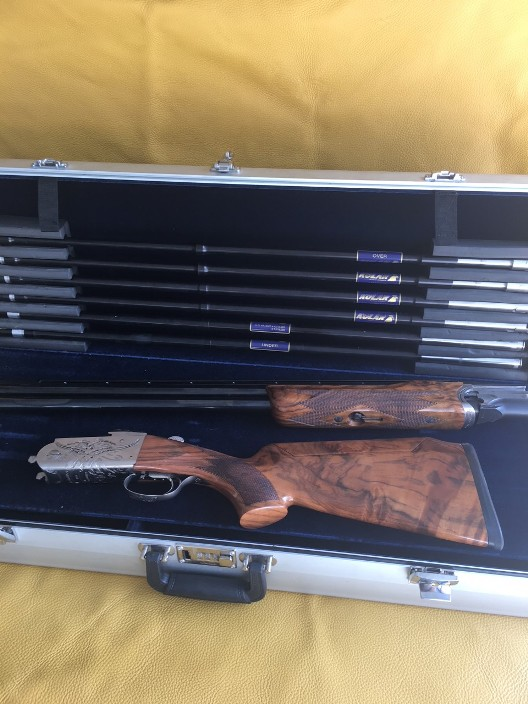 Krieghoff K80  Celtic scroll with Kolar tubes set