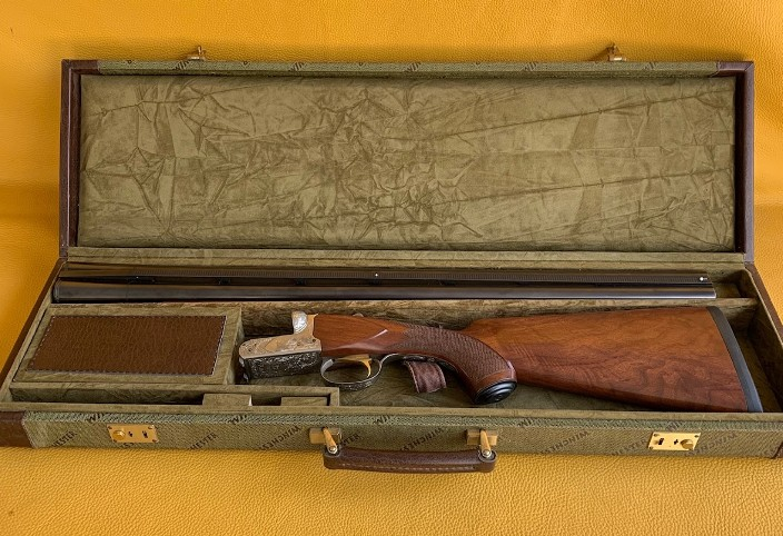 Winchester Mod 23  Quail unlimited , 12 Ga  factory cased