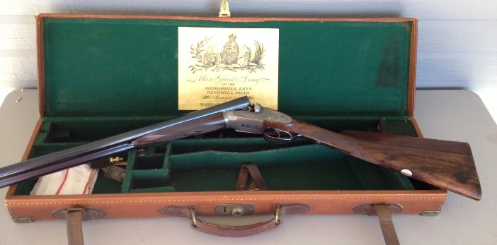 Henry Atkin (From Purdey's) 12 Bore Bar Action Sidelock Ejector Made in 1897