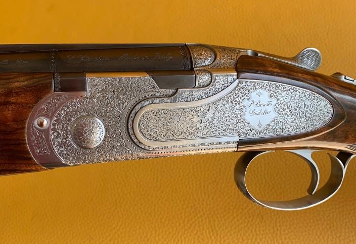 """Beretta Giubileo 20 Ga 3"""" 28"""" in factory case Serial # GIU466A"""