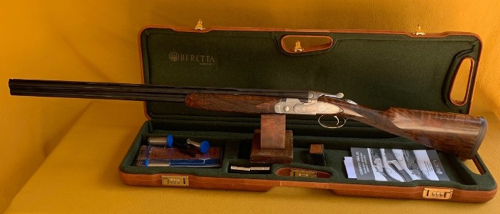 "Beretta Giubileo 20 Ga 3"" 28"" in factory case Serial # GIU466A"