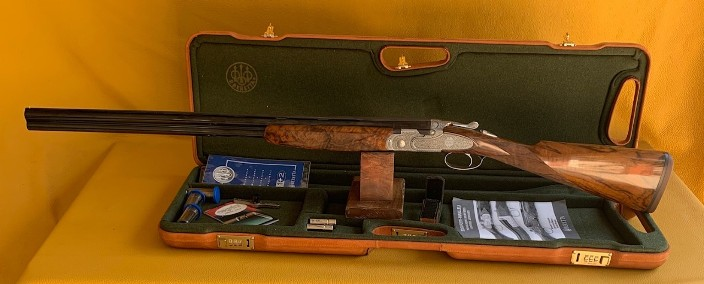 "Beretta Giubileo  20 Ga 3""  28"" in Factory case Serial #GIU440A"