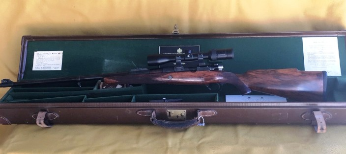 Holland & Holland Bolt Action rifle 375H&H