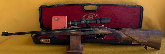 Brand new Chapuis Rgex Serie 3 22 Hornet double rifle - JJ Perodeau exclusive