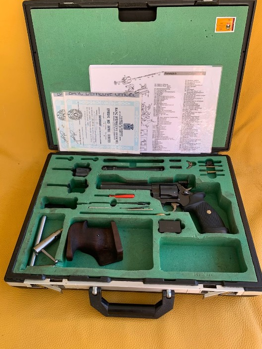 Manurhin MR73 Match Convertible  38 Sp /22 LR