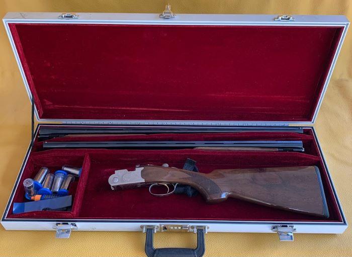 Beretta Silver Pigeon 20ga & 28ga, 2 barrel set